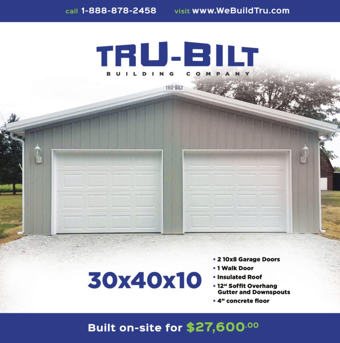Tru-Bilt May Special